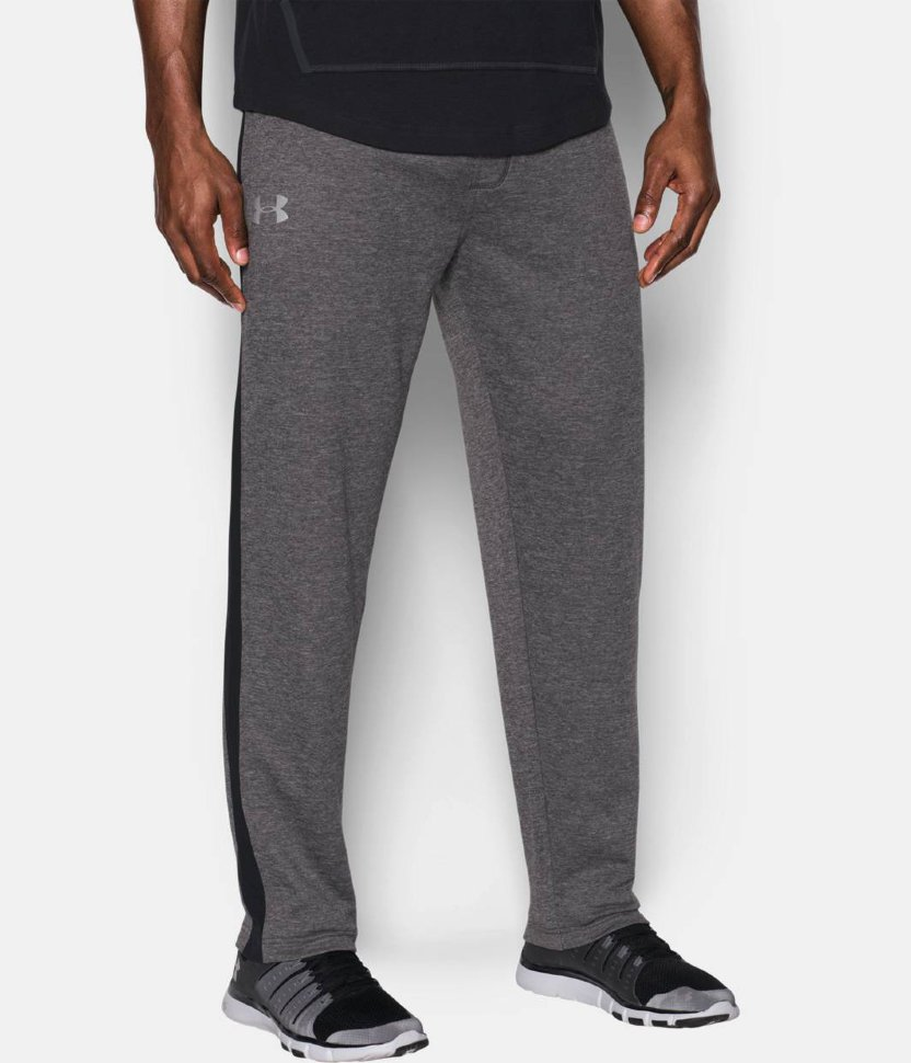 Брюки Under Armour Tech Terry Pant-CBH/BLK/SLV 1293939-090