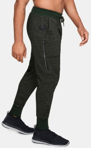 Брюки Under Armour SPECKLE TERRY JOGGER Artillery Green /  / Black 1320720-357