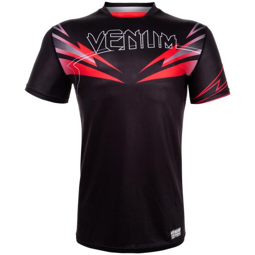 Футболка Venum Sharp 3.0 Dry Tech Black/Red 45008
