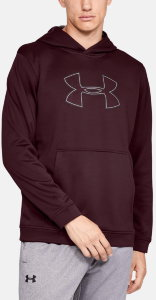 Толстовка Under Armour PERFORMANCE FLEECE HOODY Dark Maroon /  / Charcoal 1329743-600
