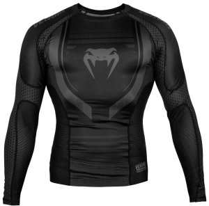 Рашгард Venum Technical 2.0 Black/Black L/S 02863