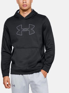 Толстовка Under Armour PERFORMANCE FLEECE HOODY Black /  / Steel 1329743-001