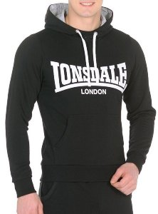 Худи Lonsdale MH062 BK