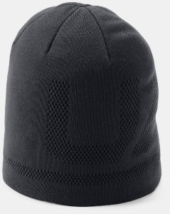 Шапка Under Armour Men's Billboard Beanie 3.0 Black / Charcoal / Black 1318514-001