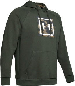 Толстовка Under Armour RIVAL FLEECE PRINTED HOODIE 1345636-310