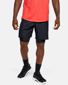 Шорты Under Armour Train (GD) Q3 Woven Graphic Emboss Shorts 1351670-001