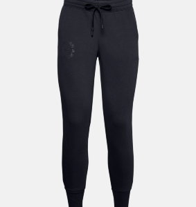Брюки Under Armour Rival Fleece Metallic Jogger 1356418-001