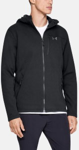 Ветровка Under Armour Dobson Hooded non-Iam Jacket Black / Charcoal / Charcoal 1319382-001