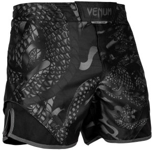 Шорты ММА Venum Dragon's Flight Black/Black 02423