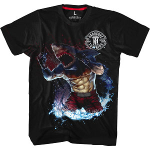 Футболка Hardcore Training Killer Shark hctshirt0203