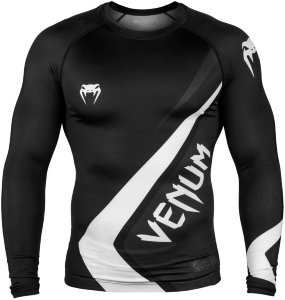 Рашгард Venum Contender 4.0 L/S Black/Grey-White 01447