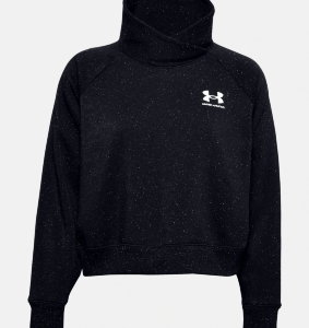 Джемпер Under Armour Rival Fleece Wrap Neck PO 1356314-002