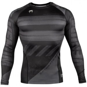 Рашгард Venum Amrap Black/Grey L/S 02405