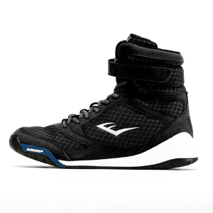 Боксерки Everlast Pro Elite High Top черн/бел.
