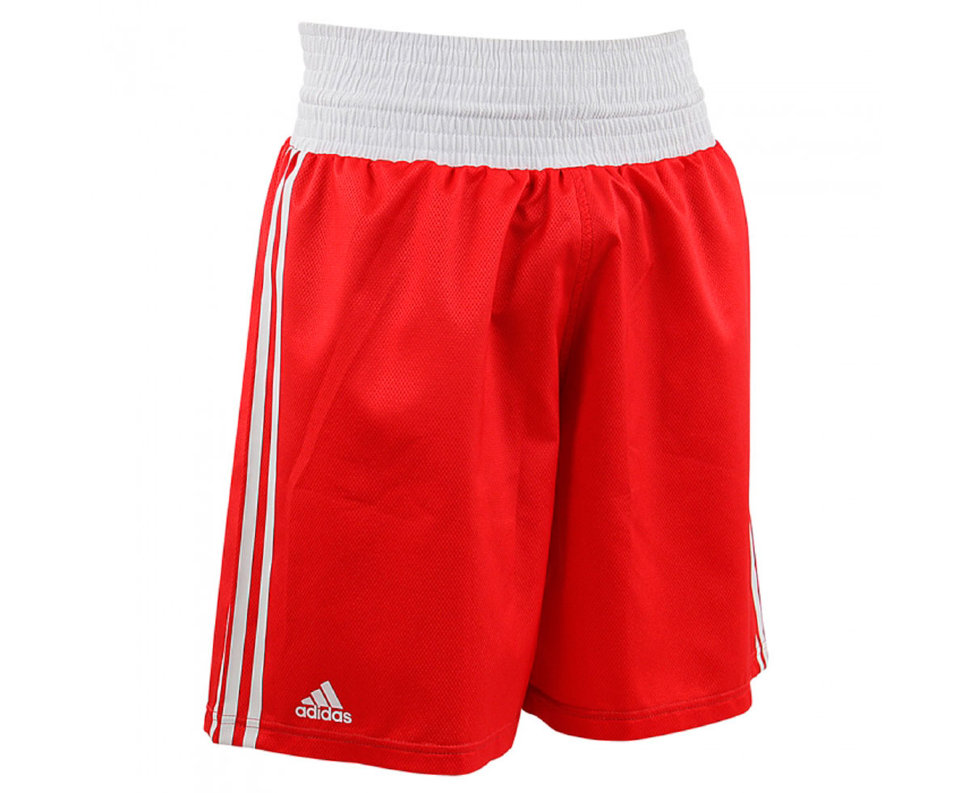 Шорты боксерские Adidas Micro Diamond Boxing Short adiBTS01Red