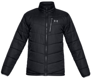 Куртка Under Armour FC Insulated Jacket Black / Black / Graphite 1321437-001