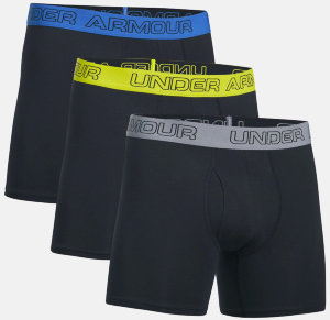 Трусы Under Armour Charged Cotton 6inch 3 Pk 1277279-003