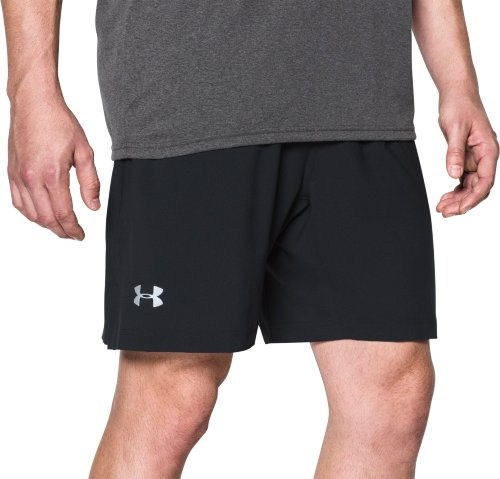 Шорты Under Armour UA LAUNCH SW 2-IN-1 SHORT-BLK 1291945-001