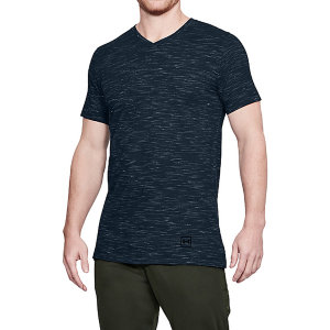 Футболка Under Armour Sportstyle Core V Neck Tee 1306492-408