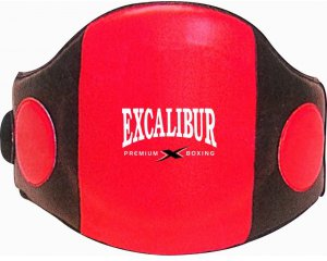 Пояс тренера Excalibur 1002 PU Black/Red 02267