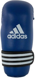 Перчатки полуконтакт Adidas WAKO Kickboxing Semi Contact Gloves adiWAKOG3синие